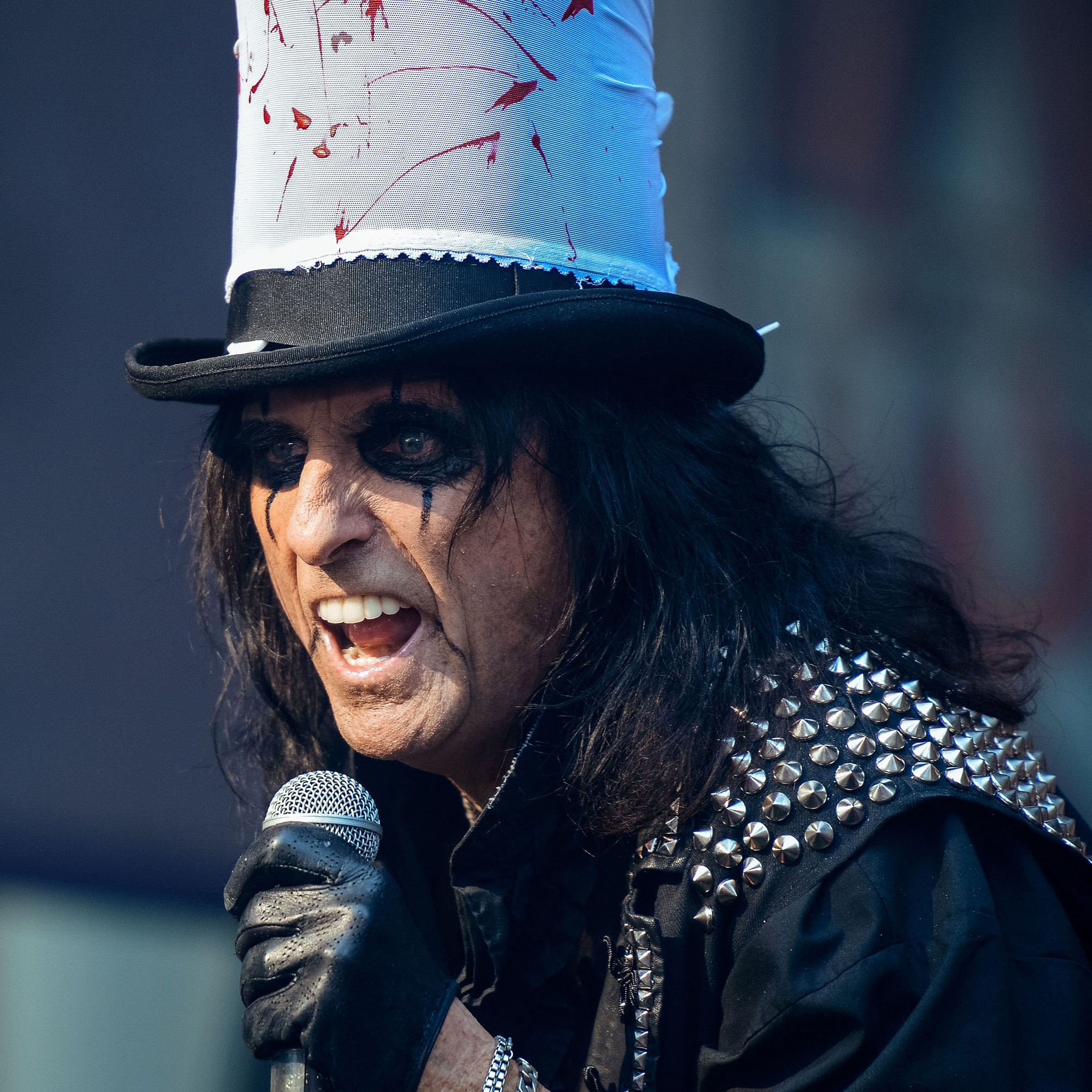 Alice Cooper Takes A Stand On Makeup And Mulligans